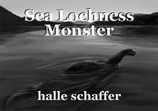 Sea Lochness Monster