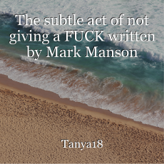 The subtle act of not giving a FUCK written by Mark Manson