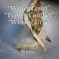 """Writer Court"", ""Typing Conflict"", ""Writing Urge"""