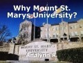 Why Mount St. Marys University?