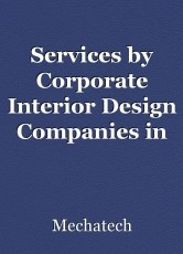 Services by Corporate Interior Design Companies in Gurgaon