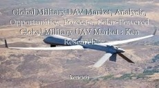 Global Military UAV Market, Analysis, Opportunities, Forecast, Solar-Powered Global Military UAV Market : Ken Research