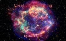 Creativity Vanishing