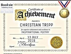 Christian Tripp awarded with a Gold Certificate!