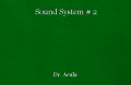 Sound System # 2