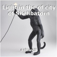 Light in the of city of Shellbatorn