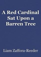 A Red Cardinal Sat Upon a Barren Tree