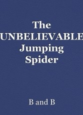 The UNBELIEVABLE Jumping Spider