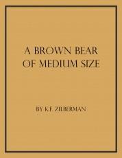 A Brown Bear of Medium Size