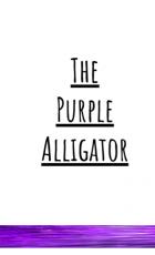 the purple alligator
