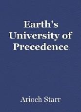 Earth's University of Precedence