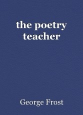 the poetry teacher