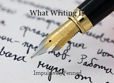 What Writing Is