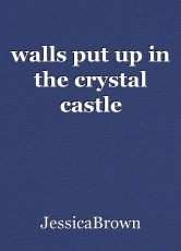 walls put up in the crystal castle