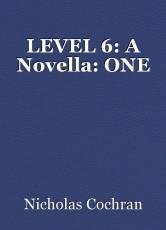 LEVEL 6: A Novella: ONE