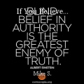 If You Believe...