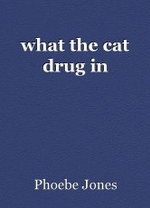 what the cat drug in