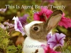 This Is Agent Bunny Twenty Six