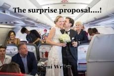 The surprise proposal....!