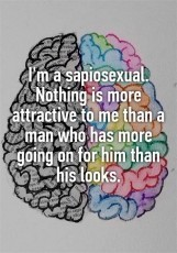 The Chronicles of Being Sapiosexual