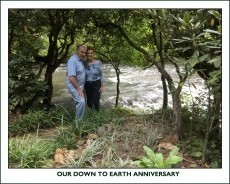 OUR DOWN-TO-EARTH ANNIVERSARY