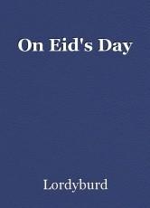 On Eid's Day