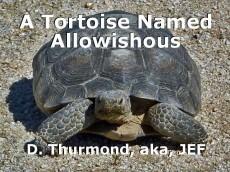 A Tortoise Named Allowishous