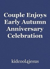 Couple Enjoys Early Autumn Anniversary Celebration