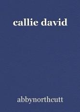 callie david