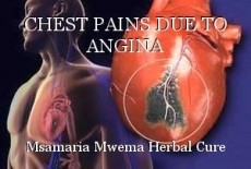 CHEST PAINS DUE TO ANGINA