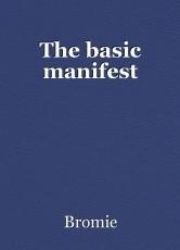 The basic manifest