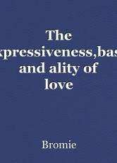 The Expressiveness,basis and ality of love