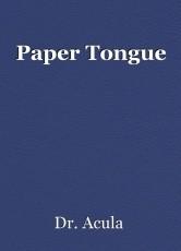 Paper Tongue