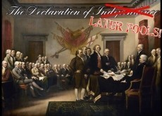 The Declaration of Later Fools!