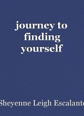 journey to finding yourself