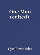 One Man (edited).