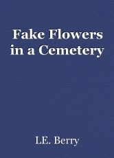Fake Flowers in a Cemetery
