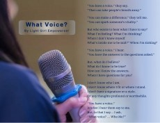 What Voice?