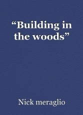 """Building in the woods"""
