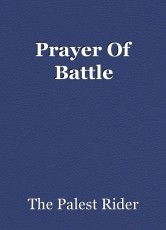 Prayer Of Battle
