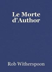 Le Morte d'Author