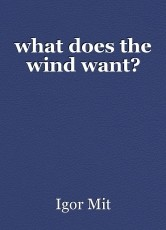 what does the wind want?