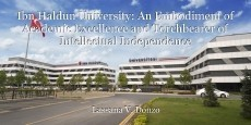 Ibn Haldun University: An Embodiment of Academic Excellence and Torchbearer of Intellectual Independence