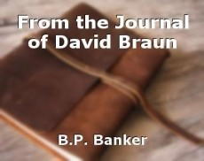 From the Journal of David Braun