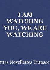 I AM WATCHING YOU, WE ARE WATCHING YOU