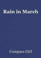 Rain in March