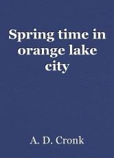 spring time in orange lake city