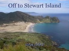 Off to Stewart Island