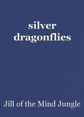 silver dragonflies