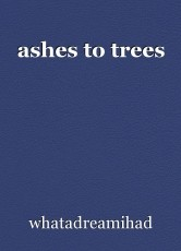ashes to trees